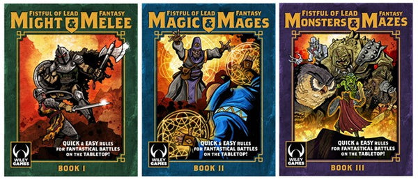 Fantasy Trilogy Big Bundle - All 3 Books + BRUTAL Cards - 30% OFF