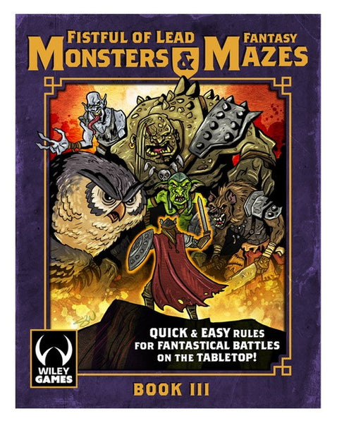 Monsters & Mazes - Fantasy Trilogy - Book III - Downloadable .pdf