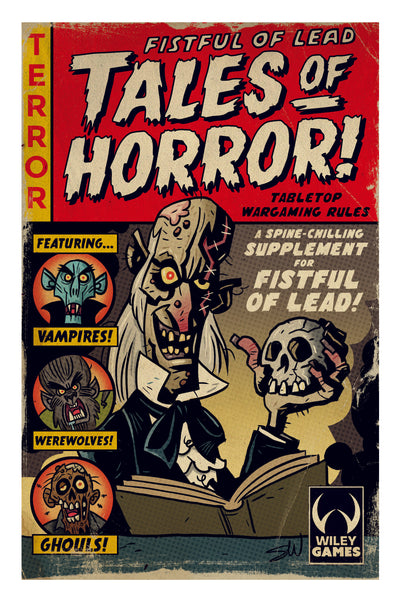 Fistful of Lead: Tales of Horror - Printed Rulebook