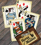 Fistful of Lead: Horse & Musket - Custom Card Deck