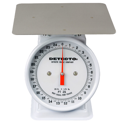 Cardinal Detecto PT-25 25 lb. Mechanical Portion Control Scale