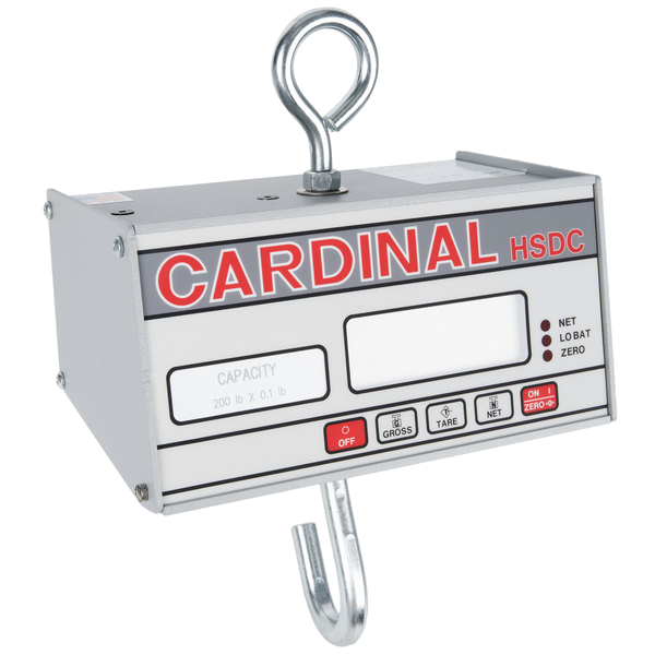 Cardinal Detecto HSDC-200 200 lb. Digital Hanging Scale