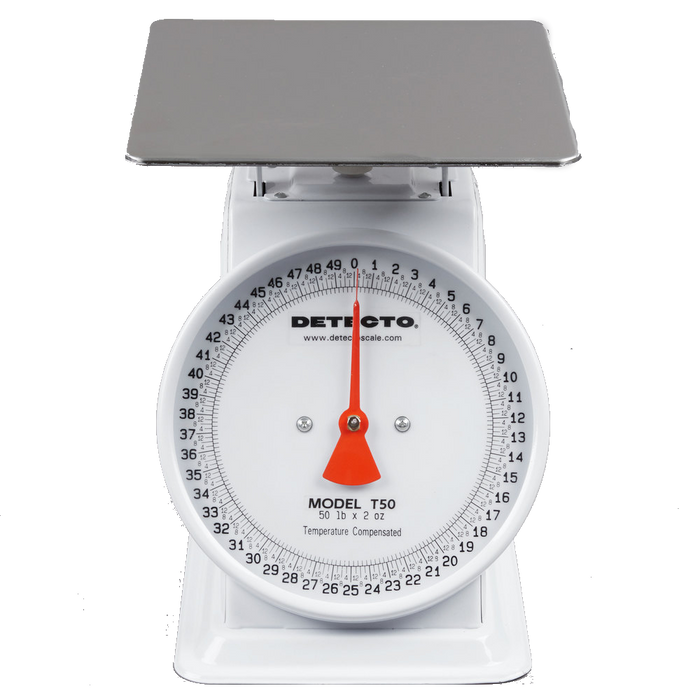 Cardinal Detecto T50 50 lb. Mechanical Portion Control Dial Scale