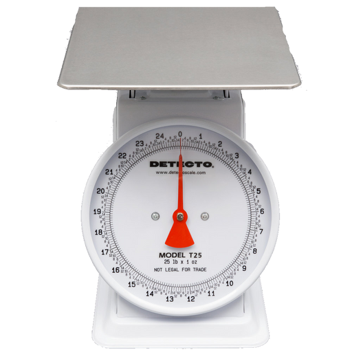 Cardinal Detecto T25 25 lb. Mechanical Portion Control Dial Scale