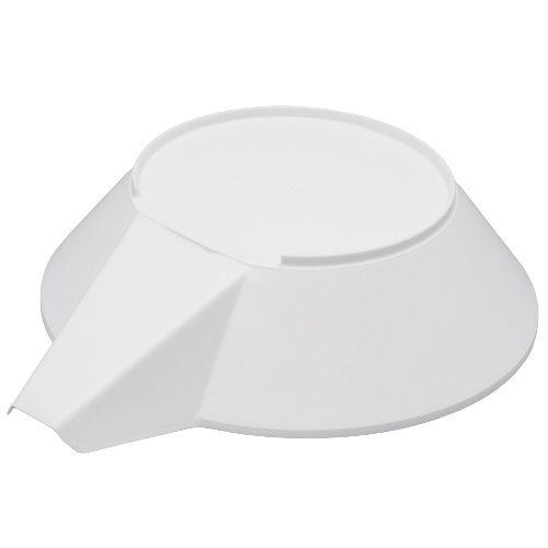 Cardinal Detecto 6100-0001 White Plastic Scale Scoop with Spout