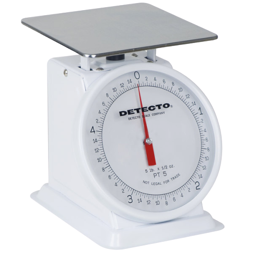 Cardinal Detecto PT-5 5 lb. Mechanical Portion Control Scale