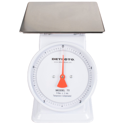 Cardinal Detecto T5 5 lb. Mechanical Portion Control Dial Scale
