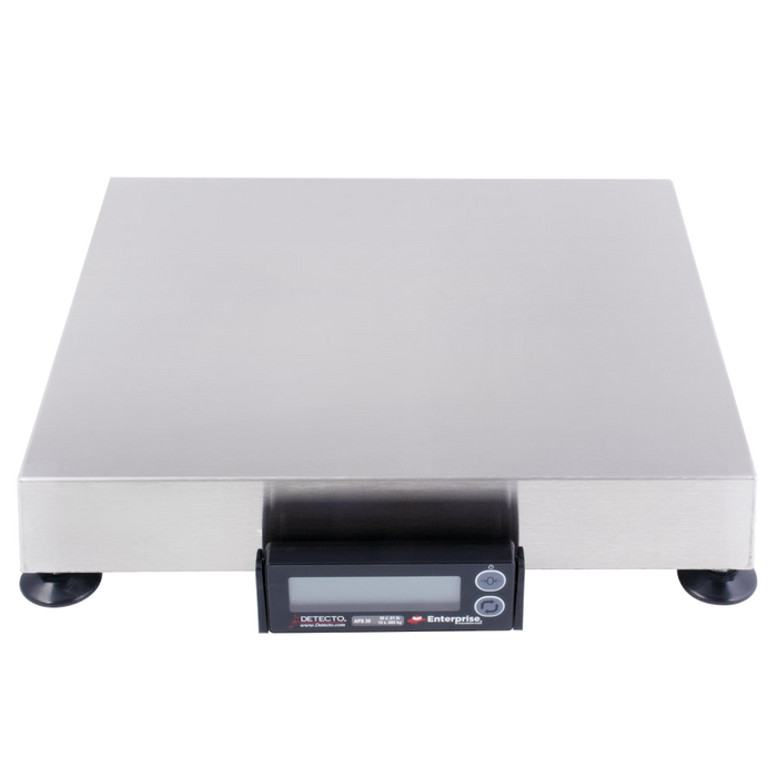 "Cardinal Detecto APS30 30 lb. Point of Sale Scale with 12"" x 14"" Platform"