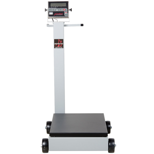Cardinal Detecto 5852F-204 500 lb. Portable Digital Floor Scale