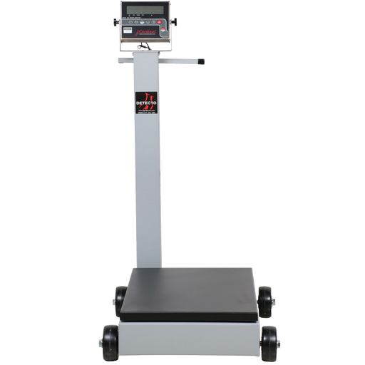 Cardinal Detecto 8852F-204 1000 lb. Portable Digital Floor Scale