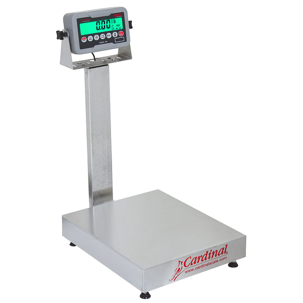 Cardinal Detecto EB-30-185B 30 lb. Electronic Bench Scale with 185B Indicator and Tower Display