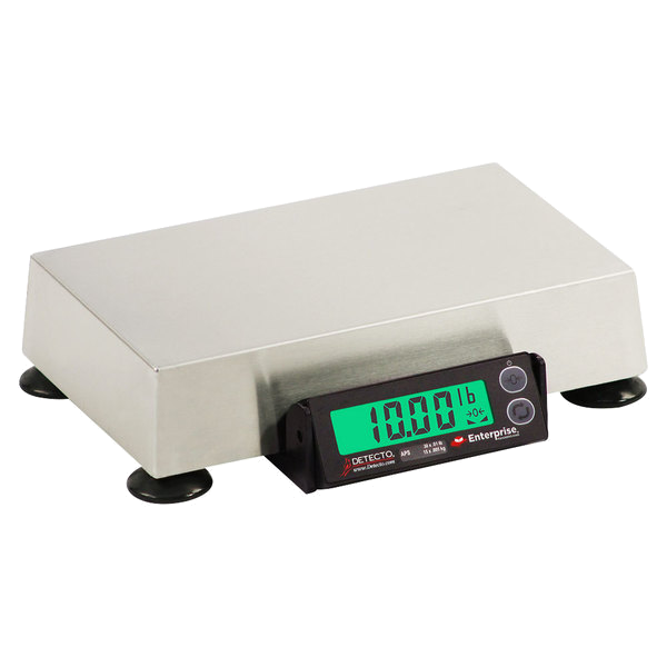 "Cardinal Detecto APS8 15 lb. Point of Sale Scale with 6"" x 10"" Platform, Legal for Trade"