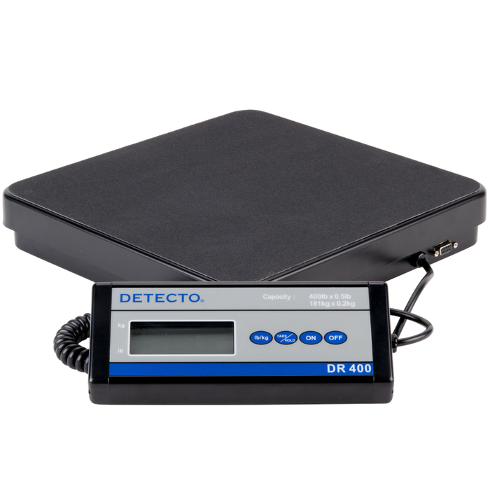 Cardinal Detecto DR400 400 lb. Portable Receiving Scale with Remote Display