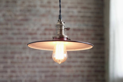 Pendant Lights - Warehouse Shade -  Hanging Pendant Light - Industrial Shade Pendant - Model No. 8326