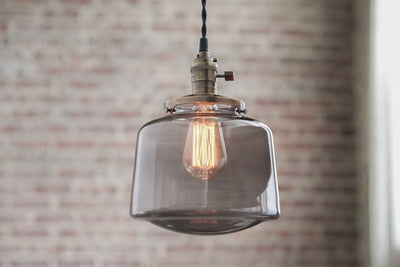 Pendant Lights - Schoolhouse Pendant -  Hanging Pendant Light - Industrial Shade Pendant - Mid Century Modern - Drum Shade