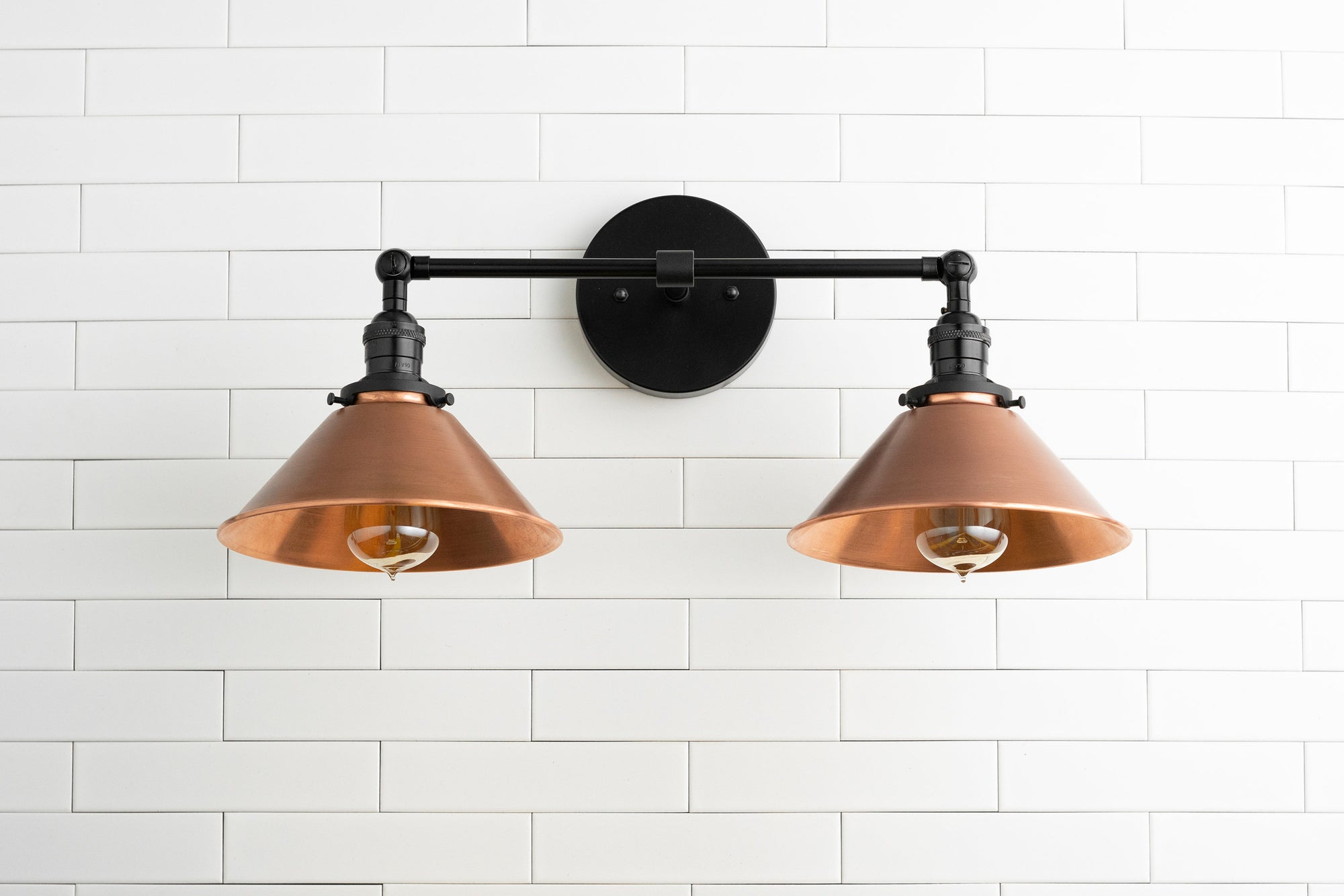 Copper Vanity Light