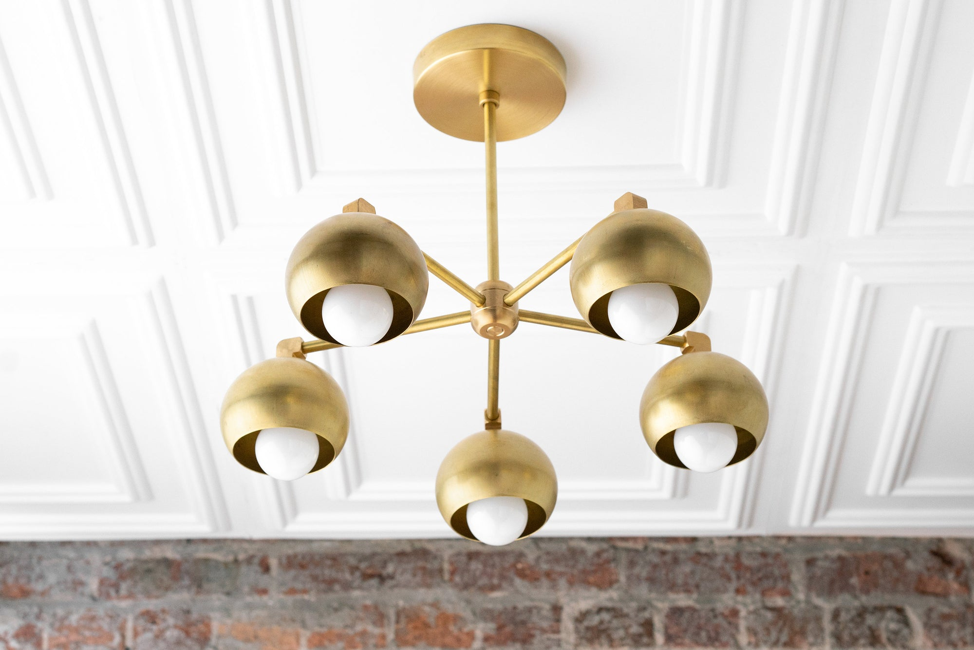 Image of: Chandelier Model No 1345 Peared Creation