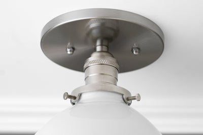 Light Fixture - Semi Flush Light - Farmhouse Lighting - Ceiling Light - Industrial Lighting - Kitchen Lighting - Model No. 9097