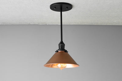 Copper Lighting - Pendant Lighting - Ceiling Light - Hanging Lamp - Copper Pendant - Kitchen Lighting - Island Light - Light Fixture