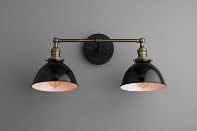 Wall Lights - Bathroom Lighting - Vanity Light - Industrial Light - Black Vanity Light - Lighting - Farmhouse Light - Model No. 7917