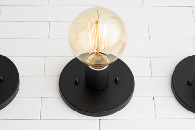 Simple Wall Sconce - Large Bulb Light Fixture - Wall Sconce - Industrial Lighting - Minimalist Sconce - Simple Light Fixture - Wall Light