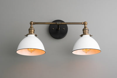 Wall Lighting - Vanity Light - Farmhouse Lighting - Bathroom Fixture - Wall Lamp - Adjustable Light - Lighting - Model No. 4564
