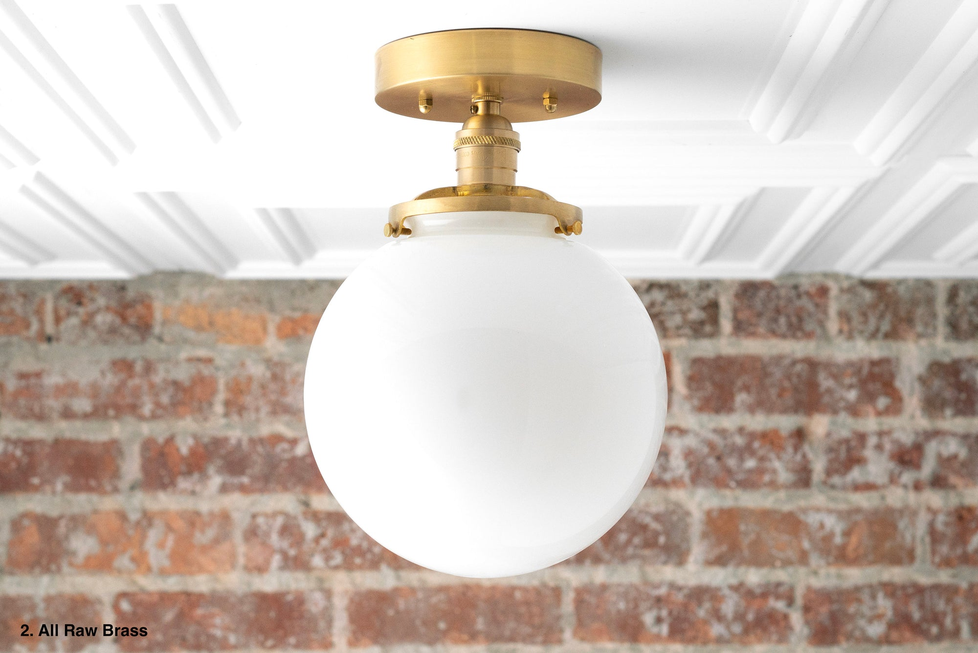 Ceiling Light Model No 1081 Peared Creation