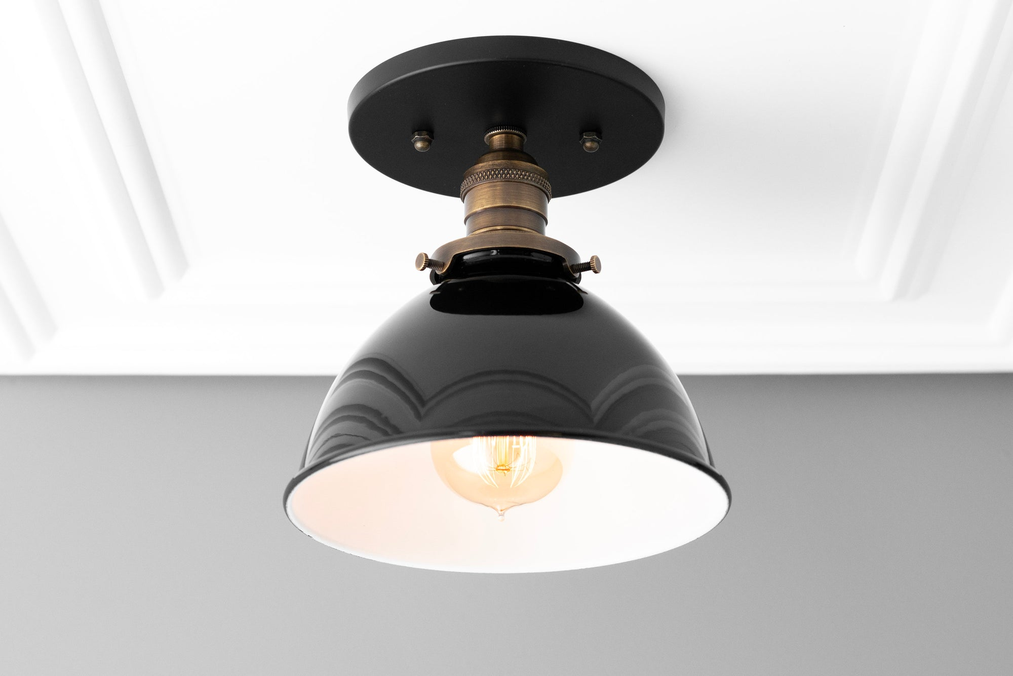 Ceiling Light Model No 7538 Peared Creation