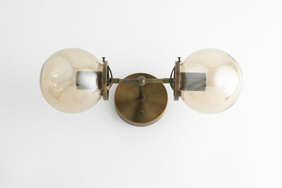 Bathroom Vanity - Bathroom Lighting - Bathroom Wall Light - Hallway lighting - Art Deco Lighting - 1950's Lighting - Model No. 8983