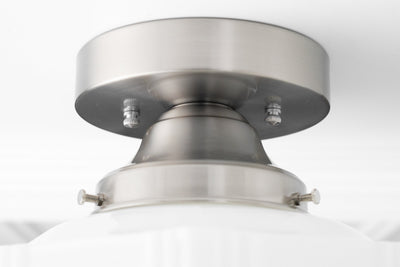 Skyscraper Shade - Art Deco Lighting - Flush Mount Light - Ceiling Light - Light Fixture - Decorative Globe - Model No. 9155