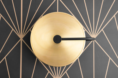 Modern Wall Light - Art Deco - Minimalist Sconce - Low Profile - Wall Sconce - Sconces - Wall Fixture - Brass Sconce - Model No. 2796