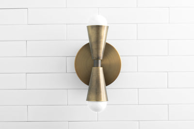 Wall Sconce Light - Decorative Sconce - Shallow Wall Light - Indoor Lighting - Wall Lighting - Sconce Light - Model No. 4717