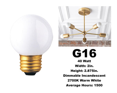 Globe Bulbs (5 pack)