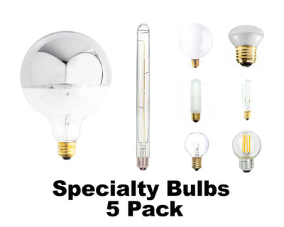Specialty Bulbs (5 pack)