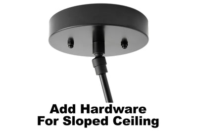 Add -on -Hardware for Sloped Ceiling