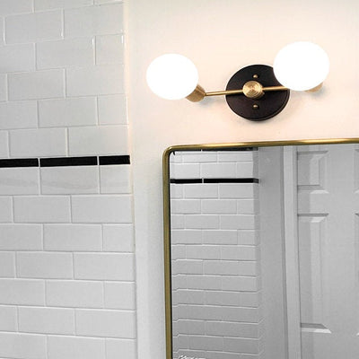 Light Fixture - Vanity Light - Bathroom Light - Bathroom Vanity - Brass Vanity - Modern Light - Mirror Vanity - Wall Light - Model No. 7826