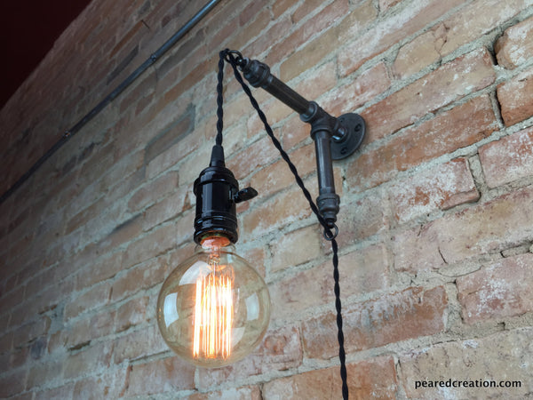 Industrial Wall Sconce Pendant Edison Hanging Lamp