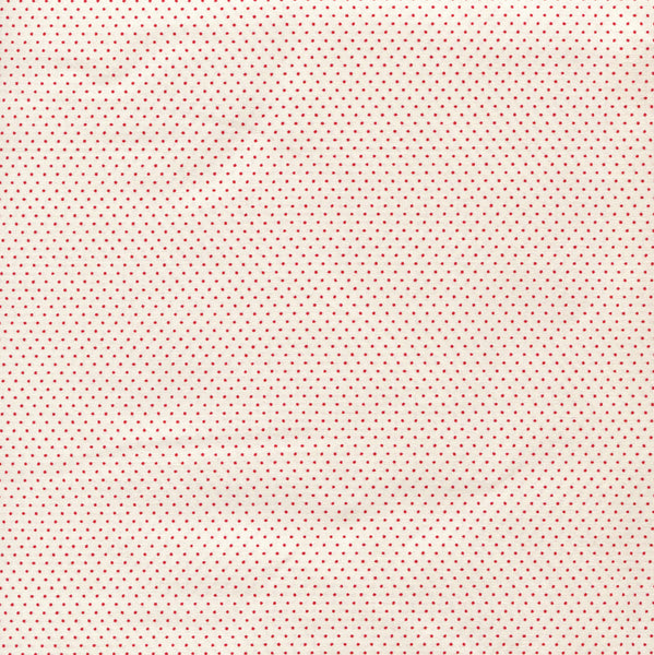 Sevenberry Fabric - Spots - Red on Ivory