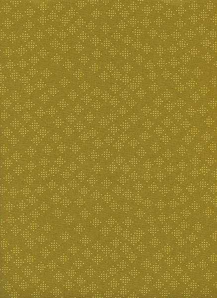 Cotton + Steel - Lagoon - Speckles Mustard