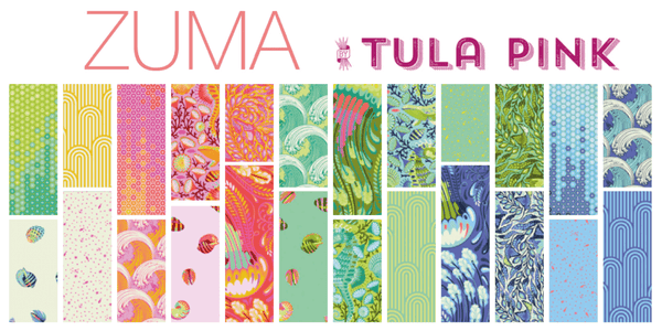 RESERVATION Tula Pink - Zuma - Full Fat Quarter Bundle (24 pieces)