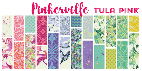 RESERVATION Pinkerville by Tula Pink - Full Fat Quarter Bundle (21 pieces)