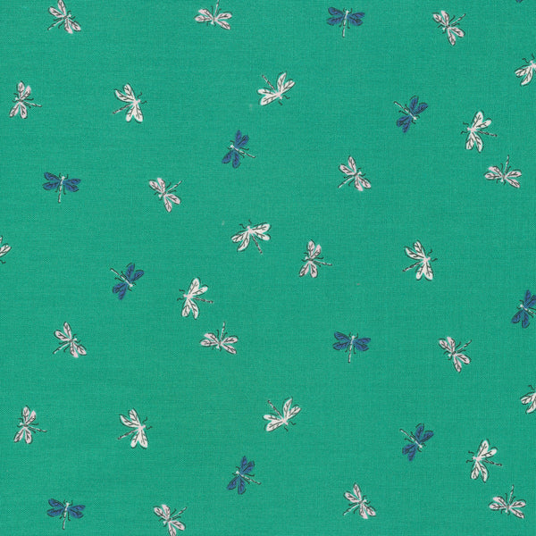 Cloud 9 - Natural Beauty by Louise Cunningham -  Drayton Dragonflies Green