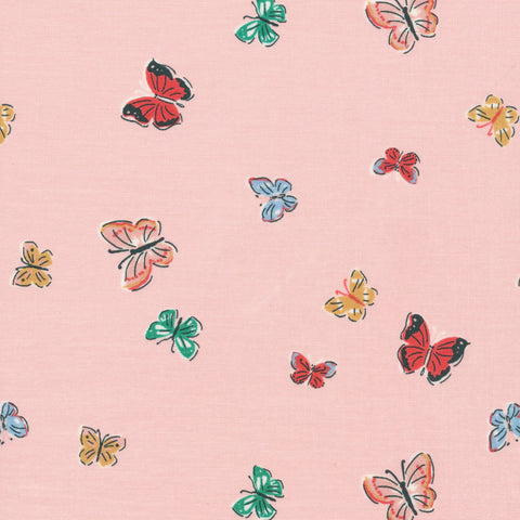 Cloud 9 - Natural Beauty by Louise Cunningham - Blakeney Butterflies Pink