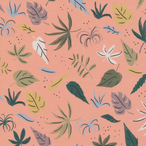 Cloud 9 - Garden of Eden by Louise Cunningham -  Foliage Pink