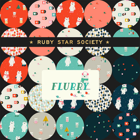 NEW Ruby Star Society - Flurry - Full Collection Fat Quarter Bundle (15 pieces)