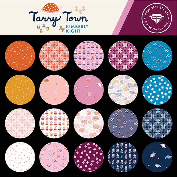**NEW ** RESERVATION Ruby Star Society - Tarry Town - Full Collection Fat Quarter Bundle (25 pieces)