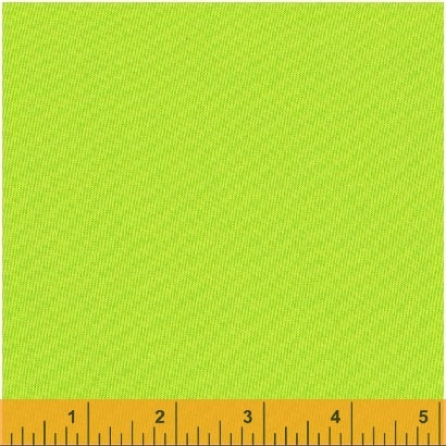 Windham - Another Point of View - Artisan Cotton - Green/Yellow