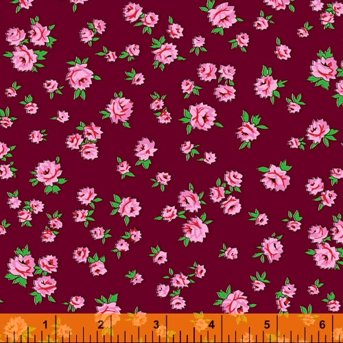 **RESERVATION** Posy from Annabel Wrigley - Little Roses Burgundy - NEW