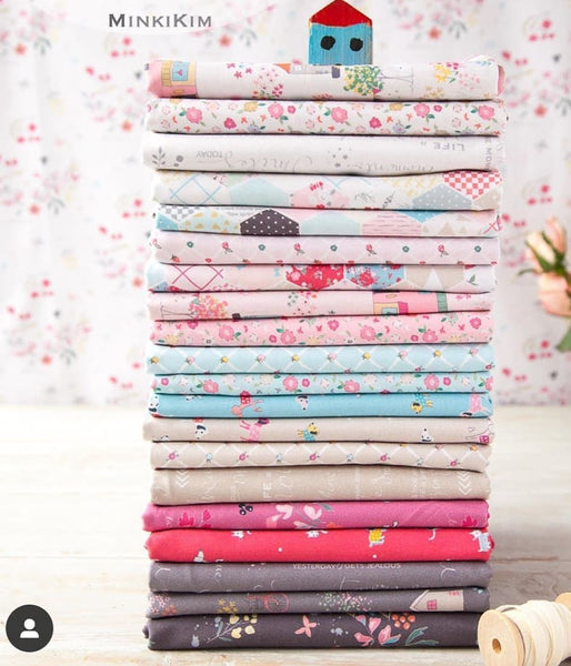 RESERVATION Minki Kim (Zeriano) Moments - FULL COLLECTION Fat Quarter Bundle