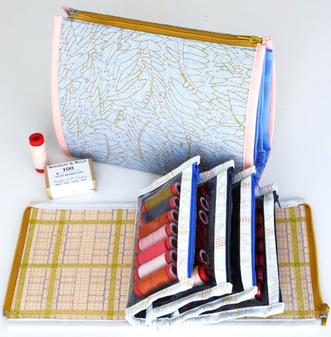 Booklet Pouch by Aneela Hoey - Project Kit (Haberdashery and Pattern Only)